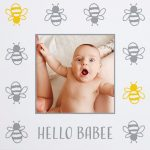 "Bees 8 x 11"" Photo Book"