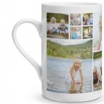 Collage Porcelain Mug