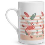 Flamingo Porcelain Mug