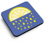 Lemon Juice Coaster
