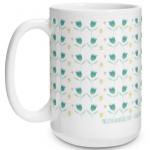 Vintage Floral Big Mug