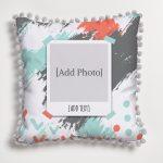 Rebel Themed Pom Pom Cushion