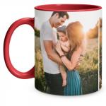 2 Photo Red Mug