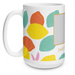 Bright Lemons Big Mug
