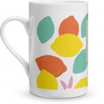 Bright Lemons Porcelain Mug