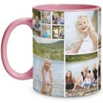 Collage Pink Mug