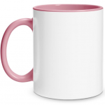 Create Your Own Pink Mug