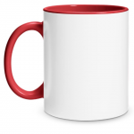 Create Your Own Red Mug