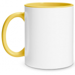 Create Your Own Yellow Mug