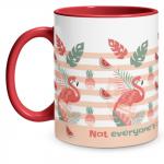 Flamingo Red Mug