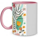 Floral Pop Pink Mug