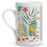 Floral Pop Porcelain Mug