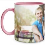 Full Photo Pink Mug