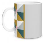 Geometric Shape Matte Mug