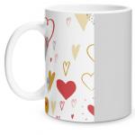 Hearts Doodle Matte Mug