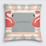 Flamingo Photo Cushion
