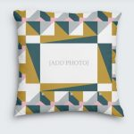 Geometric Photo Cushion