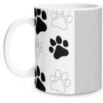Paw Print Glossy Mug