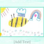 "Watercolours 8 x 11"" Photo Book"
